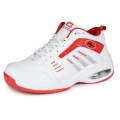Men hidden heel athletic shoes 8cm / 3.2inch red extra tall running shoes