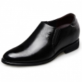 British Elevator Tuxedo Shoes Elastic Slip On Wedding Shoes Look Taller 2.6inch / 6.5cm