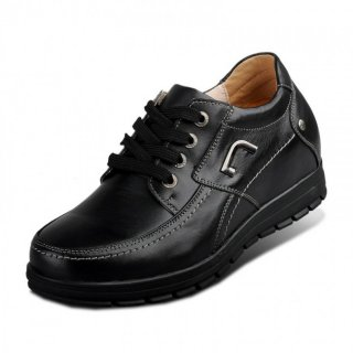 Handmade elevator casual shoes make you taller 8cm / 3.15inches height increasing leisure shoes