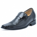 Black men height increase dress shoes become taller 7cm / 2.75inches