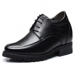 4.7 inch Elevator Formal Shoes Extra Taller Business Shoes Increase Height 12 cm