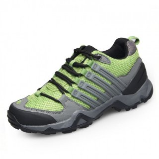 Taller hiking shoes increase height 7.5cm / 2.95inch green outdoor sports shoes