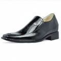 men height increasing elevator dress shoes grow taller 7cm / 2.75inches
