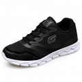 2018 Ultralight Height Increasing Sneakers Black Breathable Elevator Walking Shoes Taller 2.6inch / 6.5cm